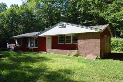 Campton Single Family Home For Sale: 76 Spring Hill Road