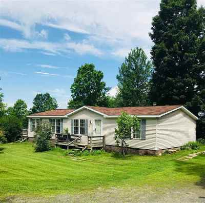 Bradford Single Family Home For Sale: 1753 Wrights Mountain Road