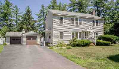Goffstown Single Family Home Active Under Contract: 49 Shirley Park Road