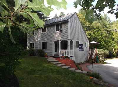 Amherst Single Family Home Active Under Contract: 120 Baboosic Lake Road
