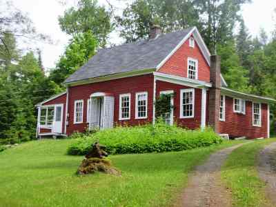 Orleans County Single Family Home For Sale: 5656 Vt. Rte. 111 Route