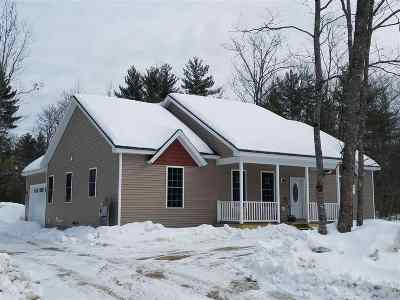 Conway Single Family Home For Sale: Lot 24 Pemigewasset Drive