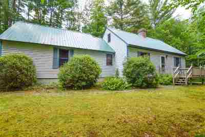 Moultonborough Single Family Home For Sale: 2 Nelson Road