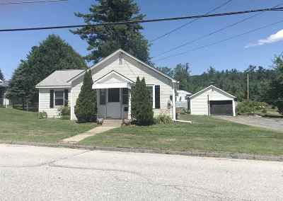 Littleton NH Single Family Home For Sale: $122,500