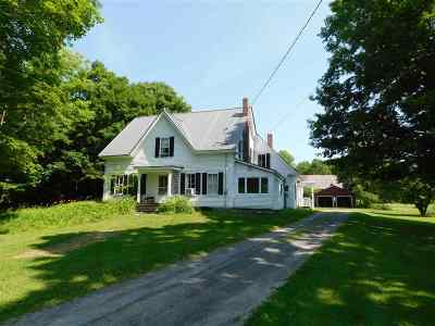 Orford Single Family Home Active Under Contract: 275 Dame Hill Road