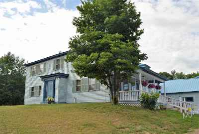 Northwood Single Family Home For Sale: 984 1st New Hampshire Turnpike