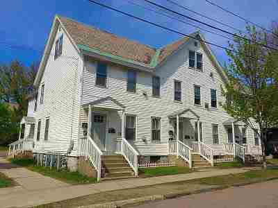 Chittenden County Multi Family Home For Sale: 46-50 Peru Street