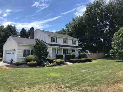 Strafford County Single Family Home For Sale: 186 Durham Road