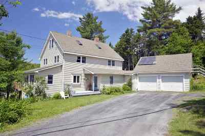 East Montpelier Single Family Home For Sale: 1943 County Road