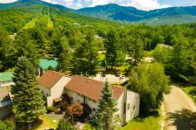 Cambridge Condo/Townhouse For Sale: Creekside 28 At Smugglers' Notch Resort #C-28