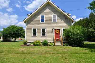 Middlesex Single Family Home For Sale: 128 Three Mile Bridge Road