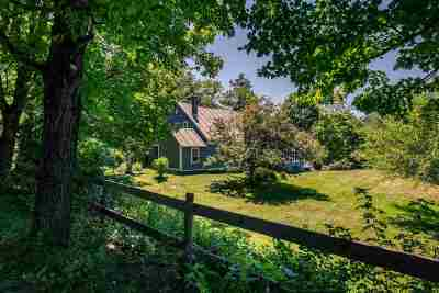 Lyme Single Family Home For Sale: 132 Whipple Hill Road