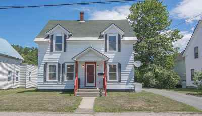 Littleton NH Single Family Home For Sale: $149,999