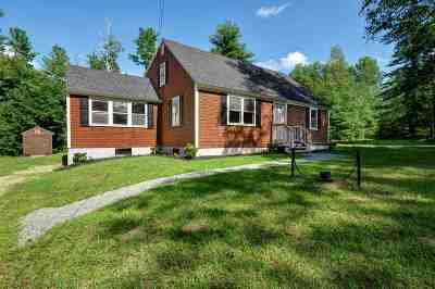 New Boston Single Family Home For Sale: 565 Mont Vernon Road