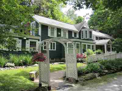 Chittenden Single Family Home For Sale: 49 Dam Road