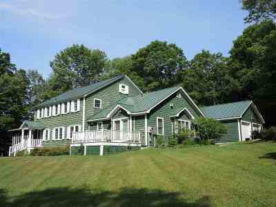 Chittenden Single Family Home For Sale: 49/51 Dam Road