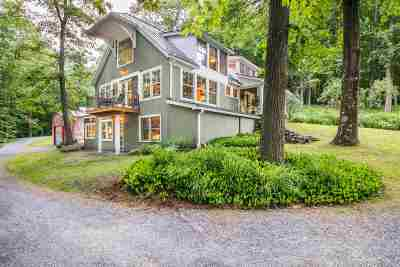 Chittenden County Single Family Home For Sale: 3282 Mt. Philo Road