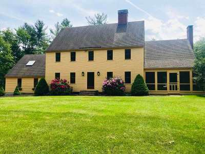 Stratham Single Family Home Active Under Contract: 32 Doe Run Lane
