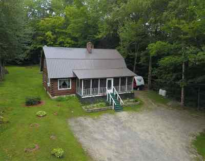 Hillsborough Single Family Home For Sale: 894 Second New Hampshire Turnpike