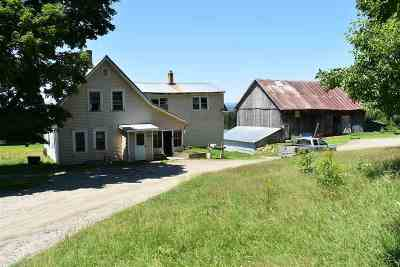 Orleans County Single Family Home For Sale: 2081 Dexter Mountain Road