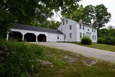 Hillsborough Single Family Home For Sale: 139 Sleeper Road
