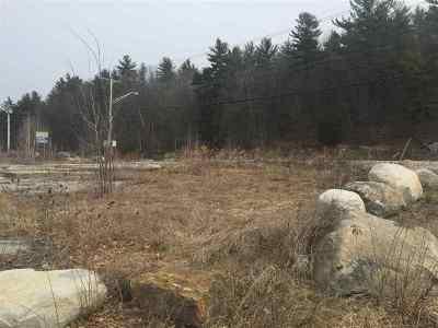 Merrimack County Residential Lots & Land For Sale: 1554 Hooksett Road