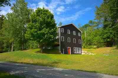 Bradford Single Family Home Active Under Contract: 889 Wrights Mountain Road