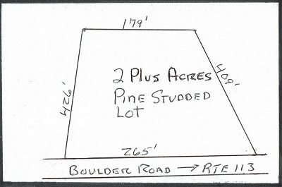 Carroll County Residential Lots & Land For Sale: Lot #2 Boulder Road