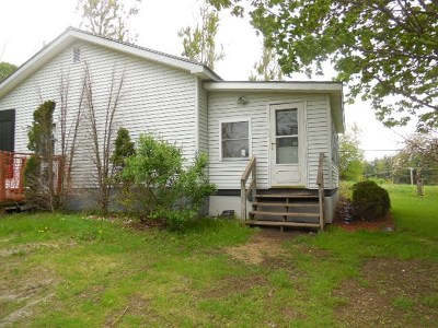 Sheldon VT Single Family Home For Sale: $139,900