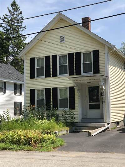 Merrimack County Rental For Rent: 23 Franklin Street