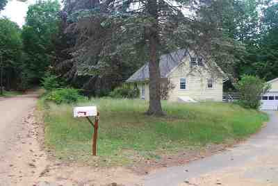 Belknap County Single Family Home For Sale: 6 Witham Road