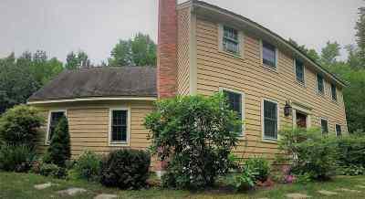 Merrimack County Single Family Home For Sale: 309 Otterville Road