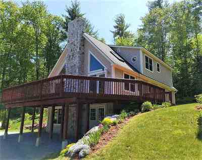 Merrimack County Single Family Home For Sale: 91 Chalk Pond Road