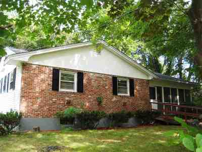 Salem Single Family Home Active Under Contract: 119 E Broadway Road