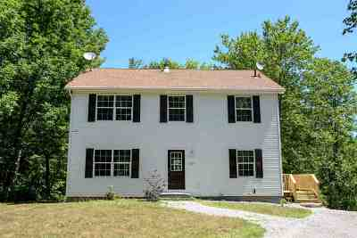 Merrimack County Single Family Home For Sale: 131 Flaghole Road