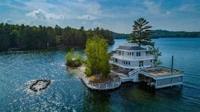 Gilford Single Family Home For Sale: 1 Welcome Island