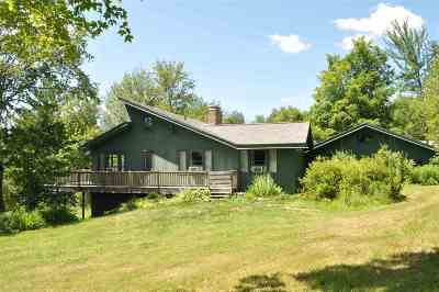 Underhill Single Family Home Active Under Contract: 22 Hedgehog Hill Road
