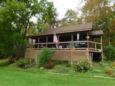 Poultney Single Family Home For Sale: 1528 Vermont Route 30 South Highway