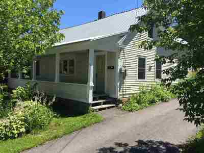 Caledonia County Single Family Home For Sale: 77 Mt. Vernon St. Street