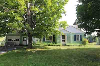 East Montpelier Single Family Home Active Under Contract: 400 Center Road