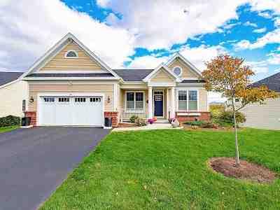 Williston Single Family Home Active Under Contract: 24 Half Moon Lane