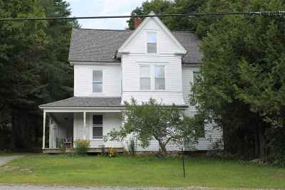 Wolcott Single Family Home For Sale: 4389 Route 15 Route