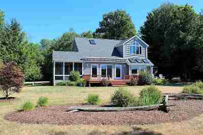 North Hero Single Family Home Active Under Contract: 1206 Savage Point Road