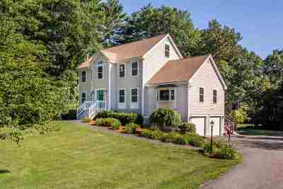Hudson Single Family Home Active Under Contract: 15 Eayers Pond Road