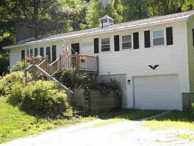 Wallingford Single Family Home For Sale: 2876 Us Route 7 S