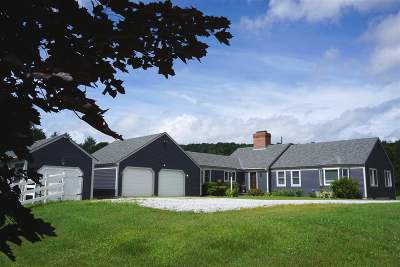 Chittenden Single Family Home Active Under Contract: 14 Smith Farm Road