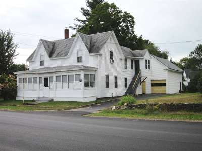 Rochester Multi Family Home For Sale: 283 Chesley Hill Road