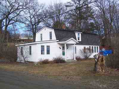 Haverhill NH Single Family Home For Sale: $85,000
