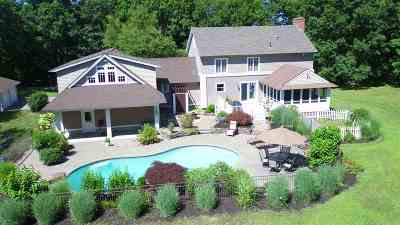 Single Family Home Active Under Contract: 120 Stratham Heights Road