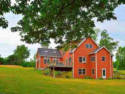 Chittenden County Single Family Home For Sale: 135 Acadia Lane
